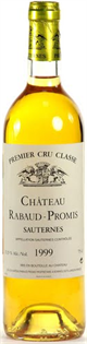Chateau Rabaud-Promis Sauternes 2005 750ml - Case of 12